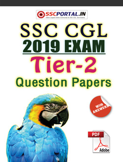 SSC CGL 2019 Tier-2 Papers PDF