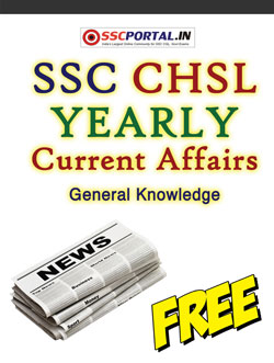 SSC CHSLYearly General Awareness PDF