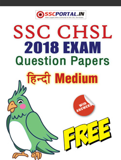 SSC CHSL HINDI Papers
