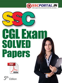 SSC CGL Solved Papers PDF Download