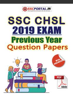 SSC CHSL 2019 Papers PDF