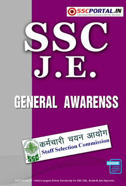 SSC JUNIOR ENGINEER Exam General Awareness