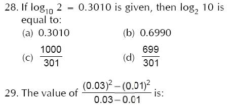SSC Multi-Tasking Staff (Non Technical) Exam Mock Test -5 (Numerical