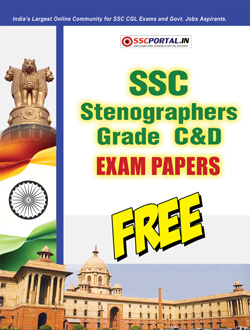 SSC STENOGRAPHER Exam Papers