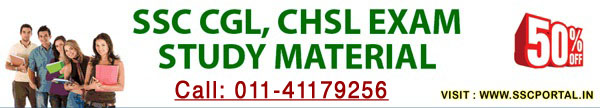 SSC CGL, CHSL, MTS Study Materials