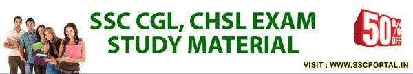 SSC CGL, CHSL, MTS Study Materials