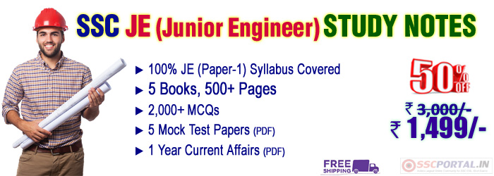 SSC junior engineer kit